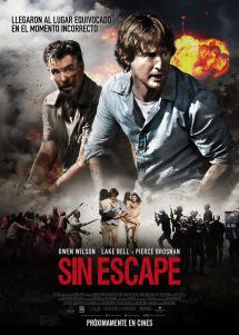 sin escape poster