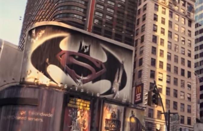 batman v superman Soy leyenda