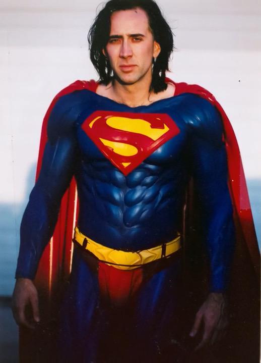 Nicolas Cage, el Superman que nunca fue.