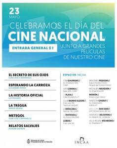 El INCAA celebra el Día del Cine Nacional con proyecciones en todo el país 2