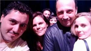 Julieta Cardinale, Jorge Bechara,  Joana D'Alessio, Andrés Rapoport