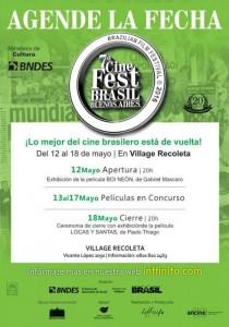 Se viene la 7ª edición del Cine Fest Brasil 2