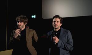 Alessio Rigo de Righi junto a Mateo Zoppis, directores de Il Solengo