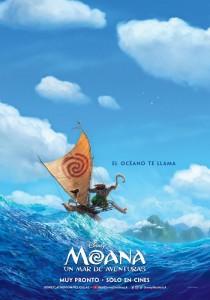 Primer póster de Moana: Un mar de Aventuras 2