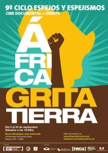 Se viene el 9º Ciclo de Cine Documental Espejos y Espejismos, África grita Tierra 1