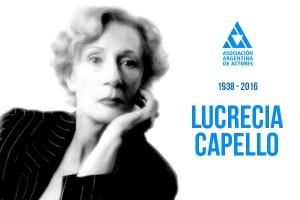 A los 77 años falleció la actriz Lucrecia Capello 2