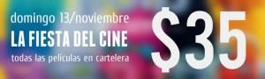En noviembre llega la Fiesta del Cine 1