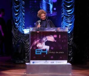 Ganadores de la 64ª edición de los Premios Cóndor de Plata 2