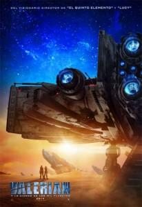 Primer póster de Valerian y la Ciudad de los mil Planetas 1