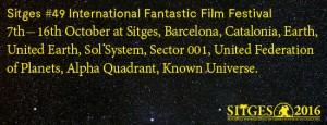 Sitges 2016 celebra el 50 aniversario de Star Trek 1