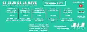 Capacitaciones con profesionales del cine en La Nave de los Sueños 1