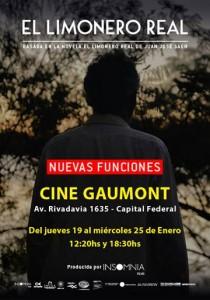 Re-estreno de El Limonero Real en el Gaumont 1