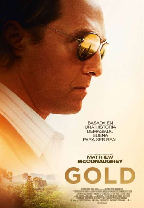 Gold (La gran estafa) : Cartel
