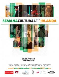 Arranca la Semana Cultural de Irlanda en Buenos Aires 2