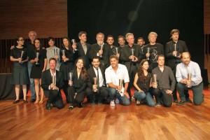 Ganadores de los premios Sur 3
