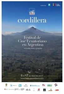 Programación del Festival Cordillera - Cine ecuatoriano en Argentina 2