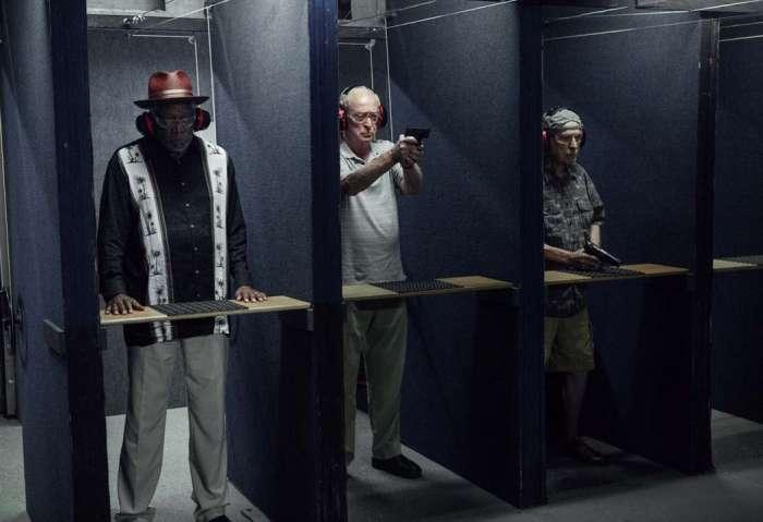 Un golpe con estilo : Foto Alan Arkin, Michael Caine, Morgan Freeman