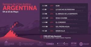 Llega la Semana de Cine Andino a Argentina 2