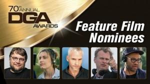 Nominaciones a los Directors Guild Award 2018 1