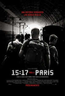 15:17 Tren a París: Tres amigos con un destino 2