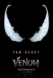 Tom Hardy en el primer adelanto de Venom 1