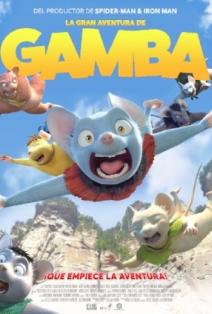 La gran aventura de Gamba: Un personaje muy gamba 1