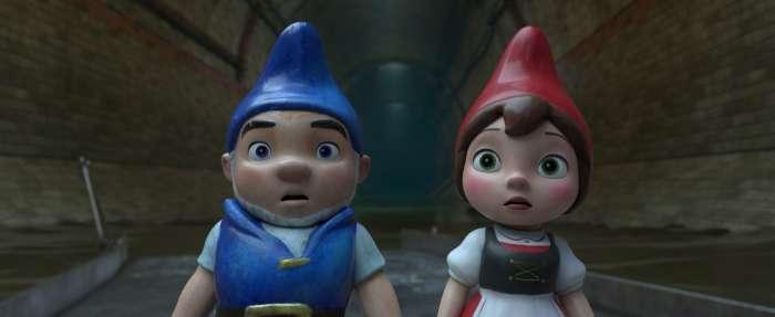 Sherlock Gnomes: El jardín vacío. 1