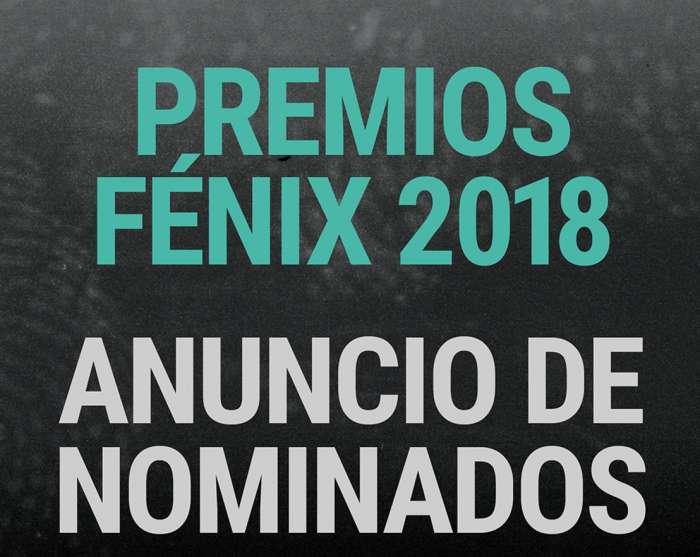 Cinema23 presenta los nominados a los Premios Fénix 2018 1
