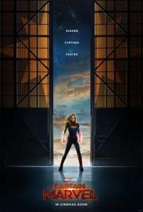 Primer tráiler y poster de Capitana Marvel 1