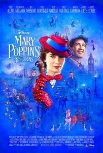 Tráiler oficial y poster en inglés de El Regreso de Mary Poppins 3
