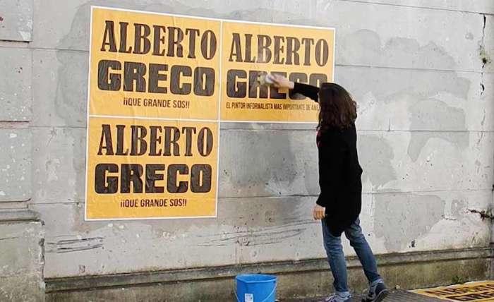 Alberto Greco, Obra fuera de catálogo: El rollo infinito 2