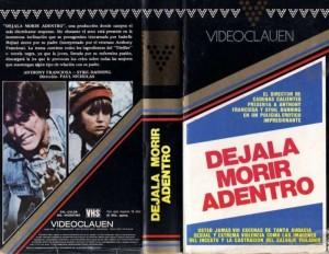 La carátula del VHS editado por Video Clauen en 1986.