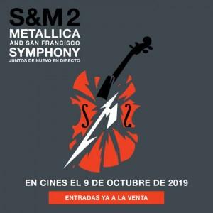 Metallica and San Francisco Symphony se proyectará en las salas Cinemark y Hoyts 2