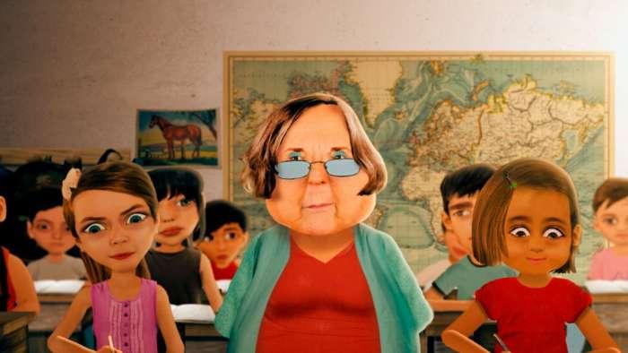"""Mercedes Moreira: """"La verdad es que cuesta mucho hacer animación en argentina"""" 2"""