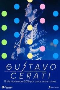 Nuevas funciones en cine del show de Gustavo Cerati Fuerza Natural Tour 2