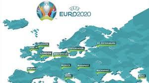 22 gladiadores, un trono se preparan para la batalla de la Eurocopa 2020 2